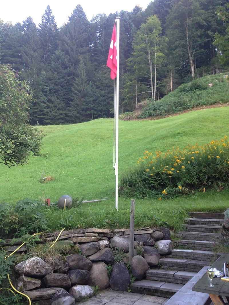 Ruchweid Fahne