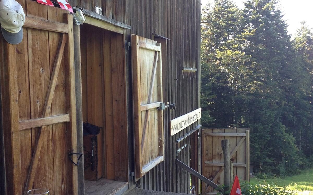 Die Ruchweid hat eine offene Türe für Gäste.