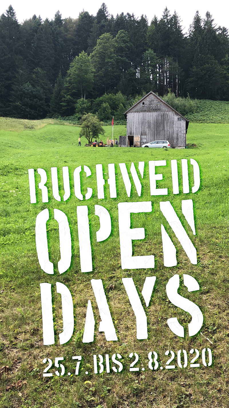 Ruchweid Open-Days 2020